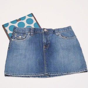 Old Navy Denim Mini Skirt size 8